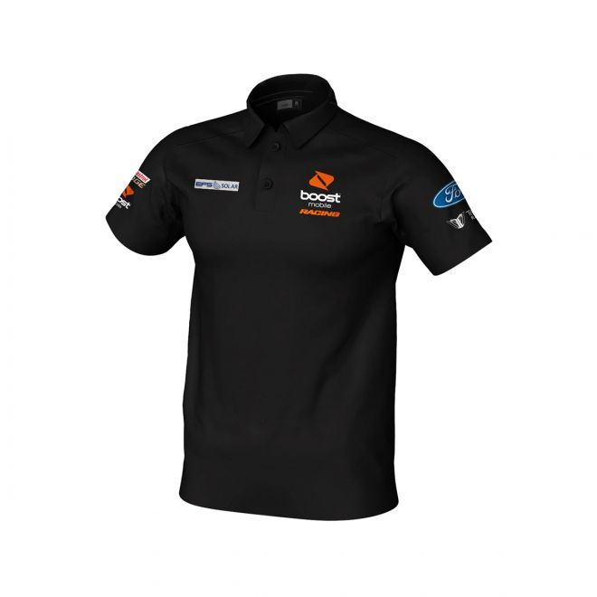 Boost Mobile Racing Team Polo Black Men's