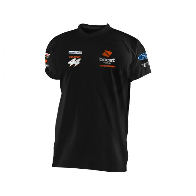 Boost Mobile Racing Team T-Shirt Black Men's