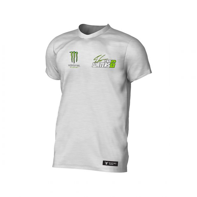 Monster Cam Waters T-Shirt White Marle
