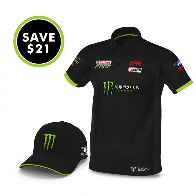 Monster Cap and Polo Bundle