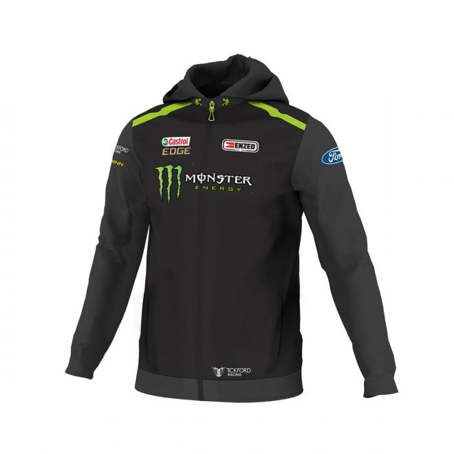 Monster Energy Team Zip Hoodie Men's