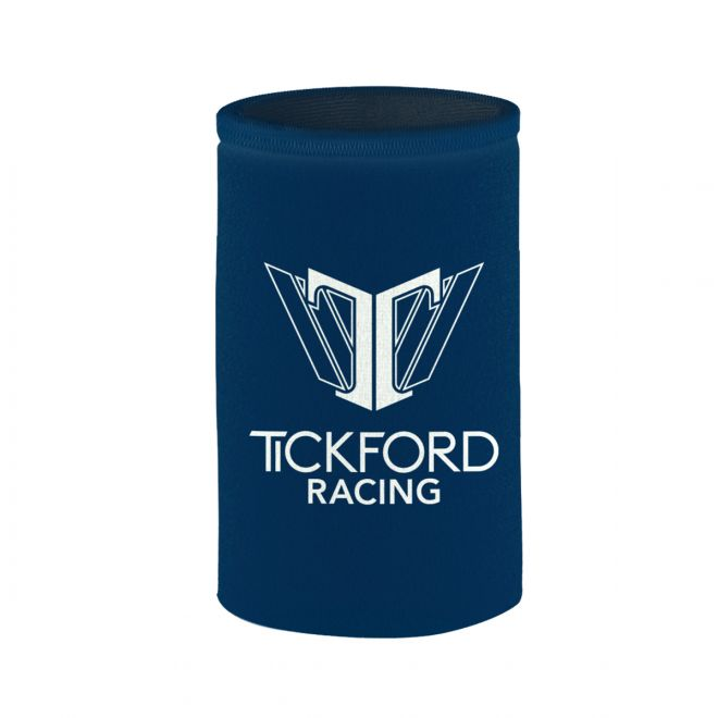 TICKFORD RACING CAN COOLER LOGO